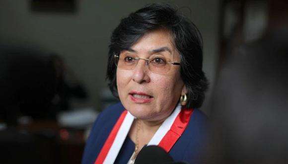 Marianella Ledesma se pronunció luego de que el Congreso no obtuviera los votos para eliminar la inmunidad parlamentaria. (Foto: GEC)