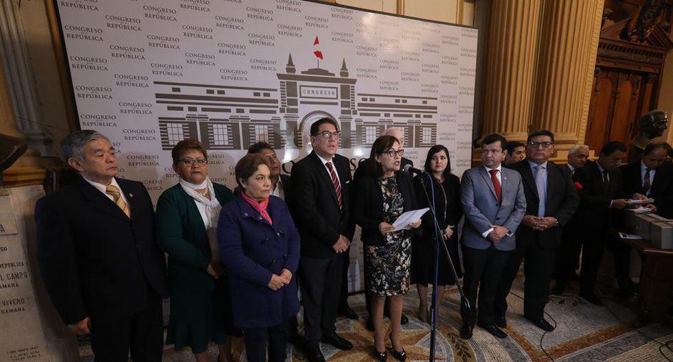 En Fuerza Popular no se han puesto de acuerdo sobre candidatos que a su vez integran la Comisión Permanente. (Foto: GEC)