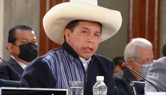 El presidente Pedro Castillo durante su participación en la VI Cumbre de la Celac en México. (Foto: @SRE_mx)