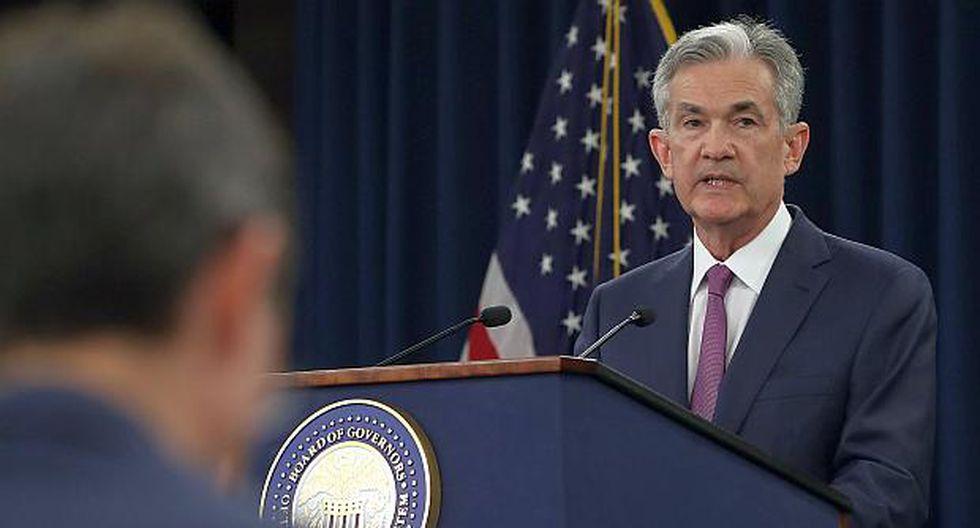 La la política monetaria estadounidense refleja el fuerte desempeño de la economía, dijo Jerome Powell, presidente de la FED.(Foto: AFP)