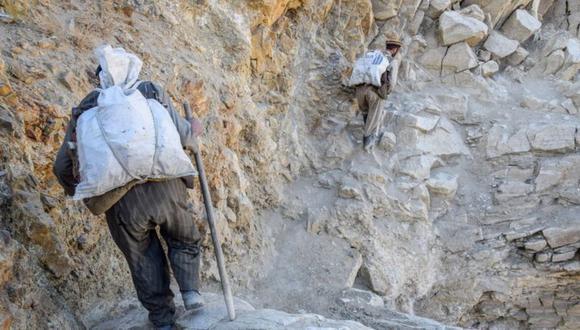 Afganistán posee un gran potencial de explotación de minerales. (Foto: Getty Images)