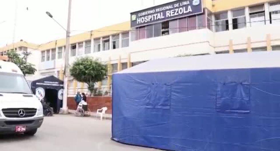 Cañete: Hospital Rezola colapsado por COVID-19. (Video: Fernando Zavala)