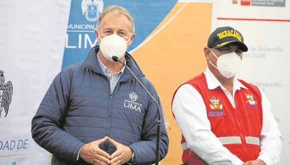 El alcalde de Lima, Jorge Muñoz, cuestionó la reunión que sostuvo el presidente de la AMPE, Álvaro Paz de la Barra, y otros alcaldes con Pedro Castillo, candidato presidencial de Perú Libre.