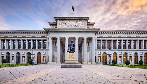 Museo del Prado, Madrid. Su principal atractivo radica en la amplia presencia de artistas como Velázquez, el Greco, Goya, Tiziano, Rubens y el Bosco, de los que posee las mejores y más extensas colecciones que existen a nivel mundial. (Foto: Shutterstock)