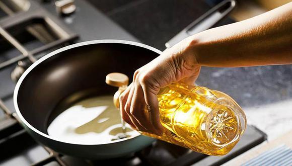 El  aceite es uno de los ingredientes más usados en la cocina y por ello el impacto en la canasta familiar (Foto: Difusión)