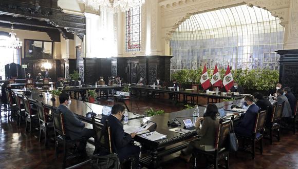 Consejo de ministros será a las 8:00 p.m.. (Foto: PCM)