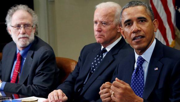 Barack Obama junto a Joe Biden. (Foto: Reuters)