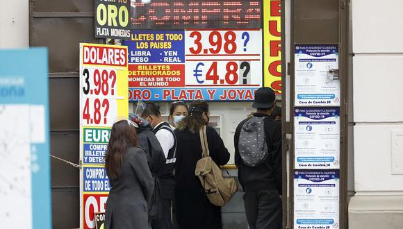 Tendencia a la baja del dólar sería temporal (Foto: César Bueno / GEC)