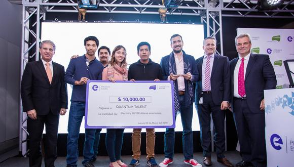 Quantum Talent, ganadores del Premio Everis 2018.