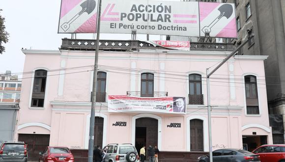 El partido Acción Popular definirá su posición en segunda vuelta electoral. (Foto: GEC)