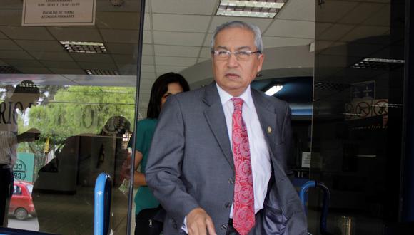 Pedro Chávarry es uno de los dos fiscales supremos suspendidos temporalmente por la JNJ. (Foto: GEC)