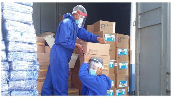 Qali Warma indicó que la distribución de los productos se hace tras una evaluación por parte de especialistas. (GEC)