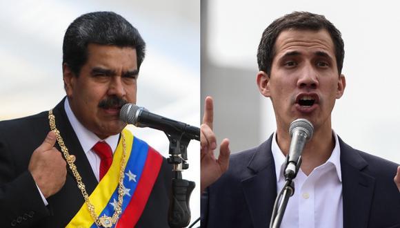 Nicolás Maduro había anunciado el rompimiento de relaciones con Estados Unidos, pero Juan Guaidó respondió a través de la red social Twitter. (Foto: EFE)