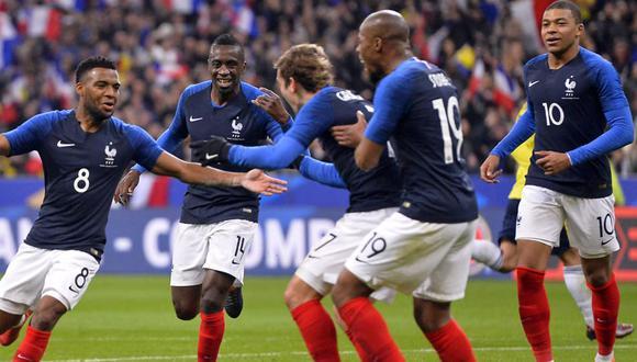 FOTO 5 | 5. Francia. El segundo equipo de la lista que continúa en carrera es Francia. Los campeones del '98 suman 113 goles y quedan en el quinto lugar. (Foto: FIFA)