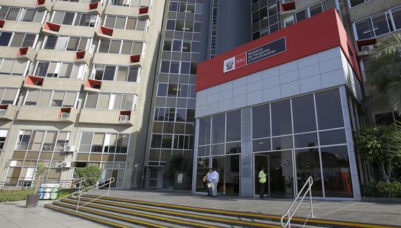 El Ministerio de Transportes y Comunicaciones (MTC). (Foto: Anthony Nino de Guzman   GEC)