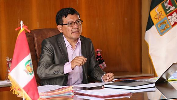 Alcalde de Huancayo, Henry López Cantorín, ha sido muy criticado por sus afirmaciones sobre los venezolanos. (Foto: Facebook Municipalidad Provincial de Huancayo)
