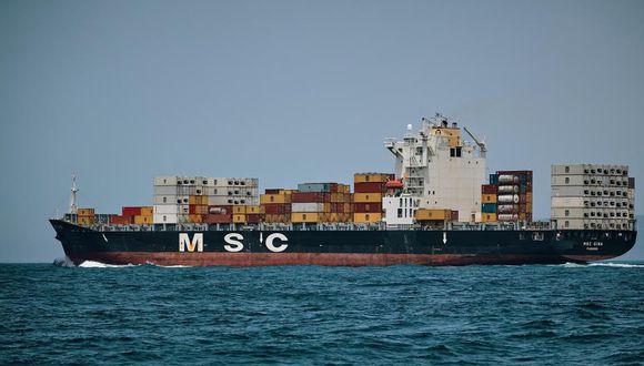 Una embarcación de Mediterranean Shipping Company.