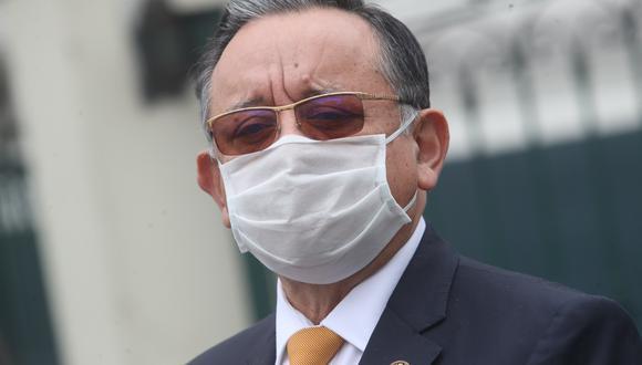 Edgar Alarcón está siendo procesado por presunto enriquecimiento ilícito. (Foto: GEC)