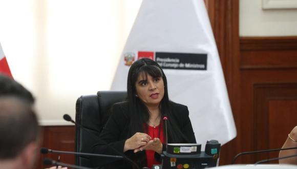 León asume luego de los cambios en el Gabinete producto de la negación del voto de confianza al Gabinete de Pedro Cateriano. (Foto: Andina)