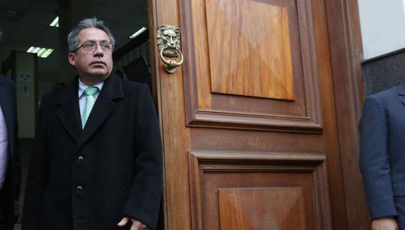 Aldo Figueroa, juez Supremo. (Foto: GEC)