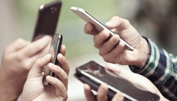 Teléfonos móviles. (Foto: Difusión)