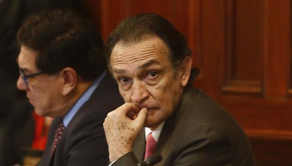 El informe que recomienda la destitución e inhabilitación de César Hinostroza mencionaba a Héctor Becerril. (Foto: USI)