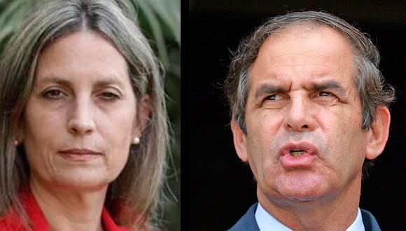Congresistas María del Carmen Alva (Acción Popular) y Roberto Chiabra (Alianza para el Progreso),. Uno de ellos podría ser el presidente del Congreso.