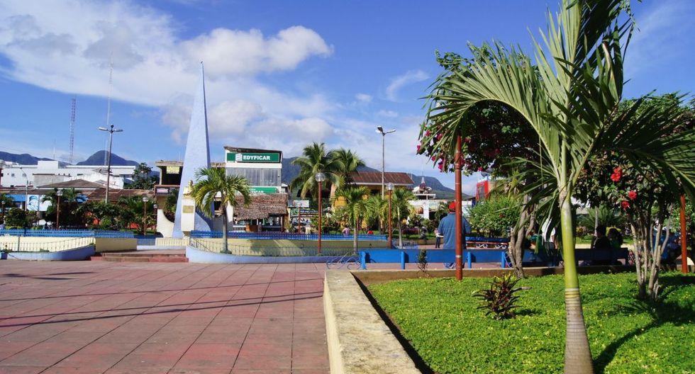 Esta es la Plaza de Armas de Tarapoto, en la región San Martín. (Foto: GEC)