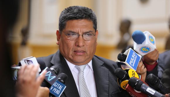 Mario Mantilla presidió la Subcomisión de Acusaciones Constitucionales antes de la disolución del Congreso. (Foto: Congreso)