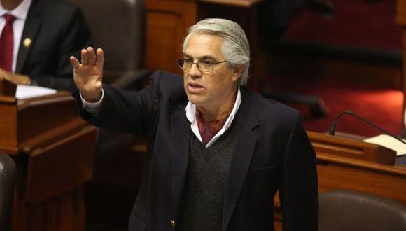 El congresista Gino Costa señaló que (Foto: GEC)