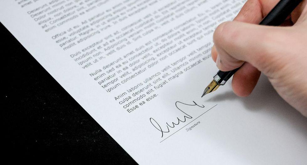 La atención en las notarías se brindará previa cita coordinada por correo o por teléfono.  (Foto: Pixabay)