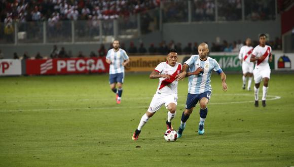 Perú tiene un 21% de probabilidades de sumar tres puntos para subir posiciones en la tabla de clasificación. (Foto: GEC)
