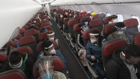 El MTC proyecta un 15% de vuelos de los que se tenía antes de la pandemia. (Foto: GEC)