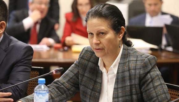 """""""Agrobanco está al borde de gatillar una causal de régimen de vigilancia"""", dijo Socorro Heysen, jefa de la SBS. (Foto: Congreso)"""