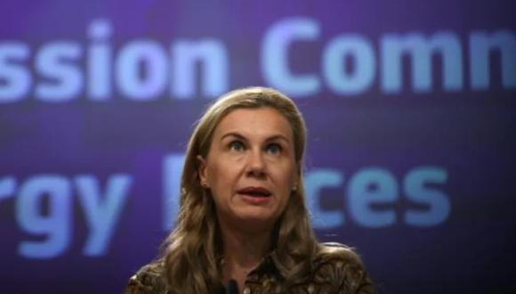"""La Comisaria Europea de Energía, Kadri Simson, dijo que la """"preocupación de los consumidores es comprensible y justificada. El invierno se aproxima, y para muchos la factura de energía es la más elevada en una década"""". (Foto: AFP)"""