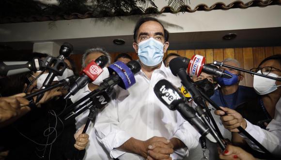 Yonhy Lescano, ex candidato presidencial por Acción Popular. (Foto: Joel Alonzo/@photo.gec).