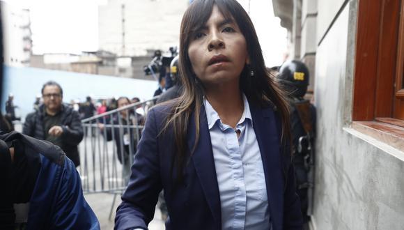 Giuliana Loza dijo que no han perdido la esperanza en que se haga justicia en el caso de Keiko Fujimori. (FOTO: USI)