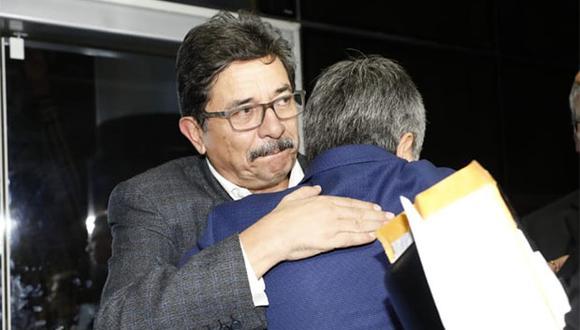 Enrique Cornejo quedó en libertad tras audiencia, aunque con comparecencia restringida. (Foto: Piko Tamashiro / GEC)