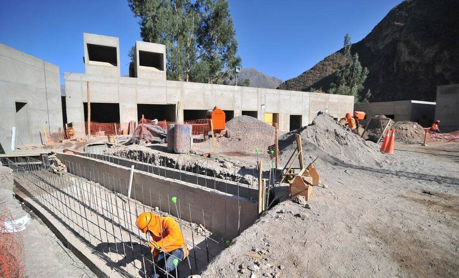 Construcción de hospital en Arequipa