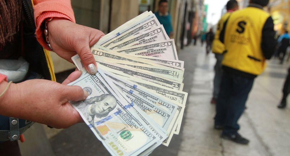 El dólar comenzó la semana al alza. (Foto: GEC)
