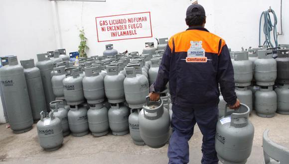 El precio del gas licuado de petróleo (GLP) envasado y granel en S/ 0.094 o 3.1% por kilo. (Foto: GEC)