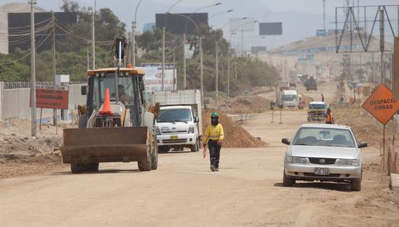 Obras públicas. (Foto: GEC)