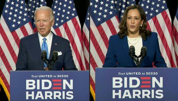 La fórmula Joe Biden - Kamala Harris busca que el Partido Demócrata regrese a la Casa Blanca tras cuatro años de gestión del Partido Republicano con Donald Trump. (Foto: AFP).