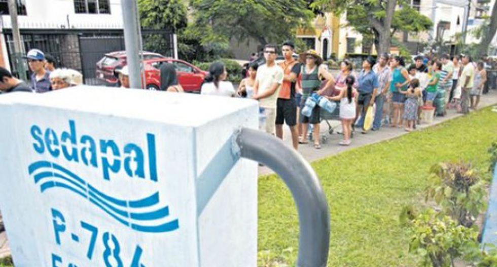 Informe sobre el aniego ocurrido en San Juan de Lurigancho provocó la renuncia del directorio de Sedapal. (Foto: GEC)