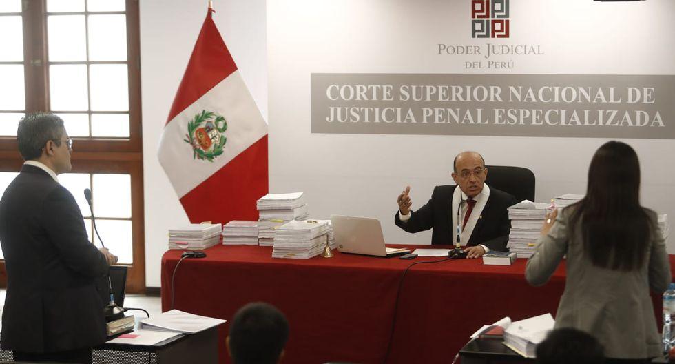 El fiscal José Domingo Pérez y la abogada de Keiko Fujimori, Giulliana Loza, tuvieron un cruce verbal en la anterior audiencia. (Foto: GEC)