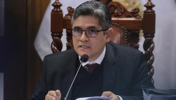 José Domingo Pérez celebró el acuerdo de colaboración eficaz Odebrecht en el 2018. (Foto: GEC)