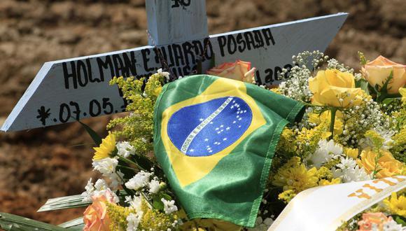 Imagen referencial. Brasil es el segundo país con más fallecidos y más casos confirmados de la enfermedad, después de Estados Unidos. (MARCIO JAMES / AFP).