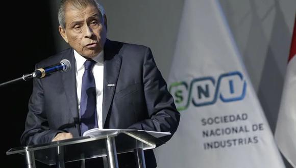 Ricardo Márquez, presidente de la Sociedad Nacional de Industrias (SNI). (Foto: Difusión)