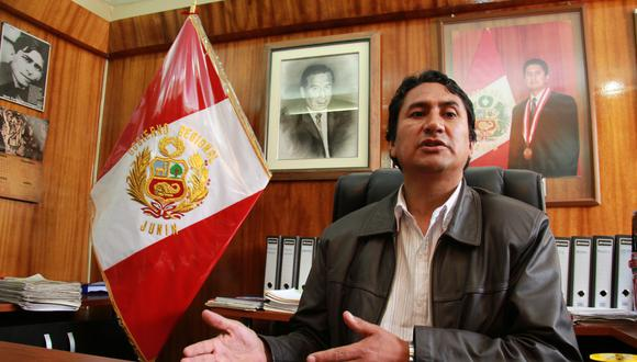 Cerrón Rojas se desempeñó como Gobernador de Junín y es el líder de Perú Libre.  (Foto: GEC)