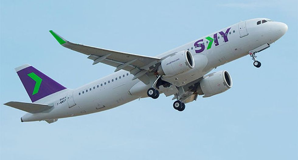 En 3 años, Sky Airline apunta a contar con un 15% de 'market share'. (Foto: Difusión)